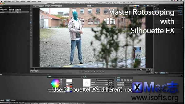[Mac]最强的手工抠像和特效软件 : Silhouettefx Silhouette