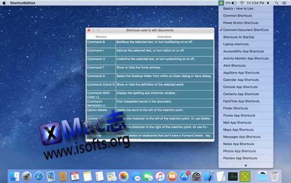 [Mac]系统快捷键清单 : ShortcutEdition