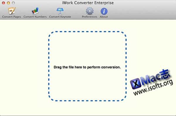 [Mac]好用的iWord文档格式转换工具 :iWork Converter
