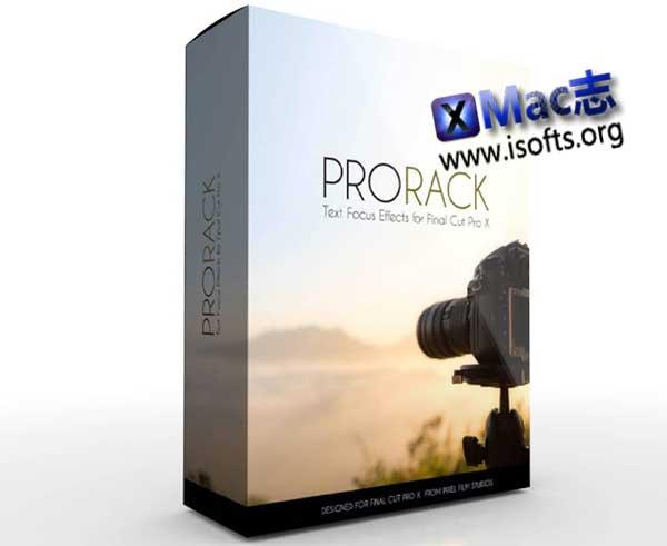 [Mac] FCPX专业文本焦点效果插件 : PixelFilmStudios PRORACK