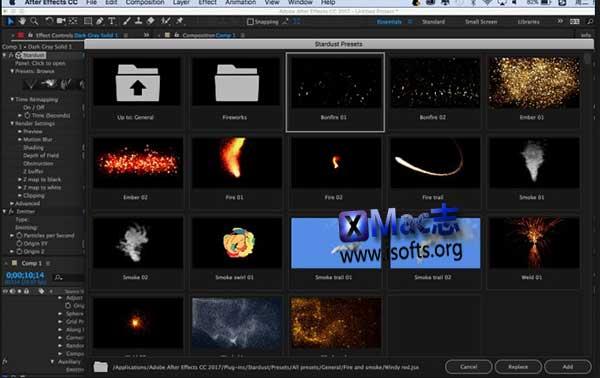 [Mac] AE插件节点式三维粒子特效插件 : Superluminal Stardust