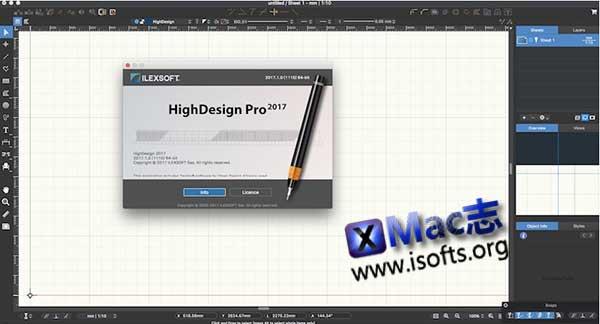 [Mac]二维CAD绘图设计软件 : HighDesign