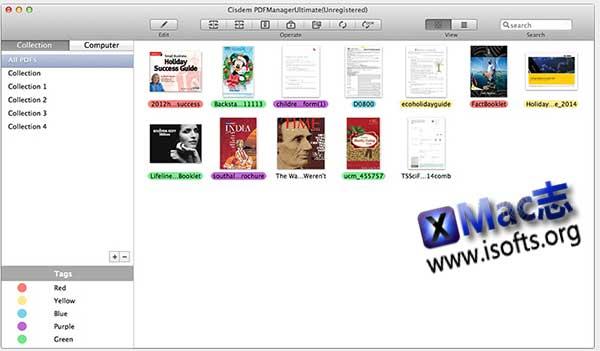 [Mac]全能型的PDF编辑及管理工具 : Cisdem PDFManagerUltimate