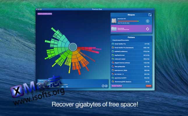 [Mac]硬盘垃圾清理工具 : Precious Disk