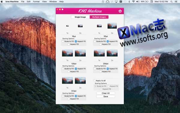 [Mac]将图片转换为图标 : icns Machine