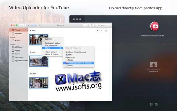 [Mac]支持批量上传的Youtube视频上传工具 :Video Uploader for YouTube