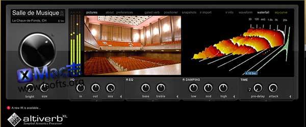[Mac]混响效果器 : AudioEase Altiverb