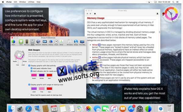 [Mac]系统性能监测工具 : iPulse