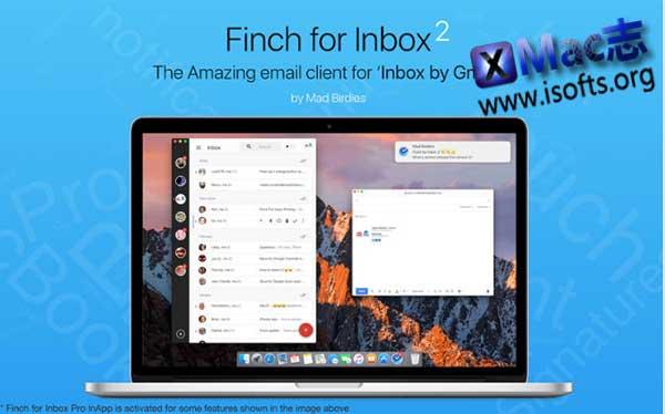 [Mac] 邮件客户端 : Finch for Inbox