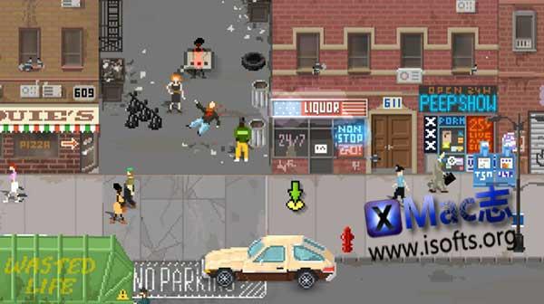 [Mac]像素风文字冒险游戏 : Beat Cop