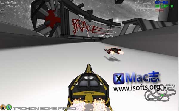 [Mac]反重力赛车游戏 : CoreBreach