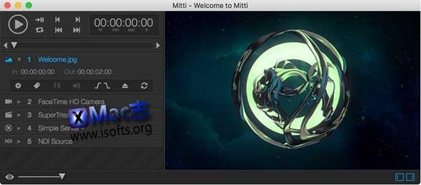 [Mac]专业视频回放解决方案 : Mitti