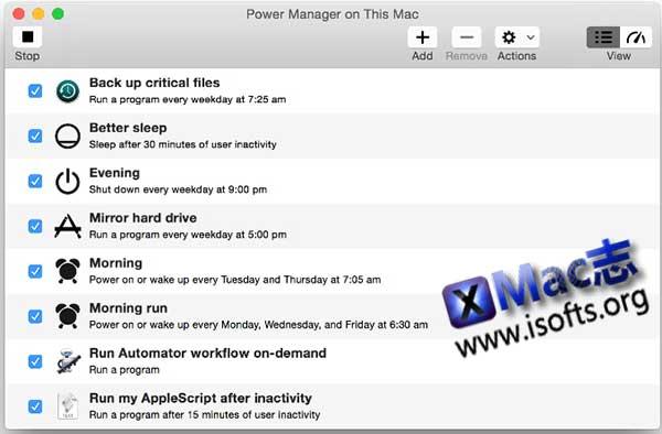 [Mac]电源管理工具 : DSSW Power Manager