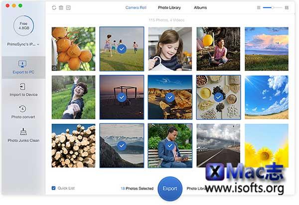 [Mac] iPhone照片管理工具 : PrimoPhoto Pro