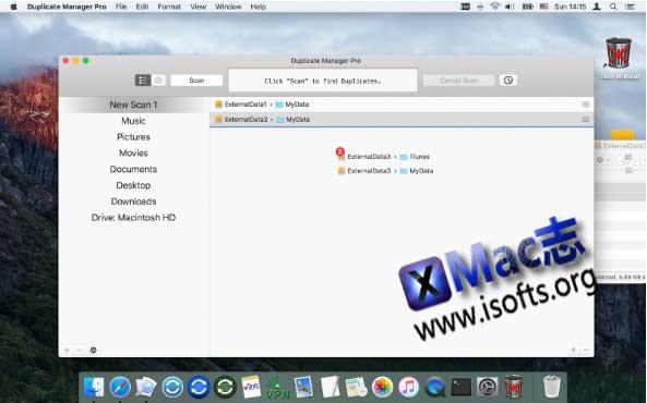 [Mac]重复文件查找工具 : Duplicate Manager Pro