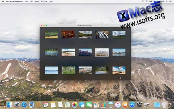 [Mac]高清桌面壁纸工具 : Richard's Desktops