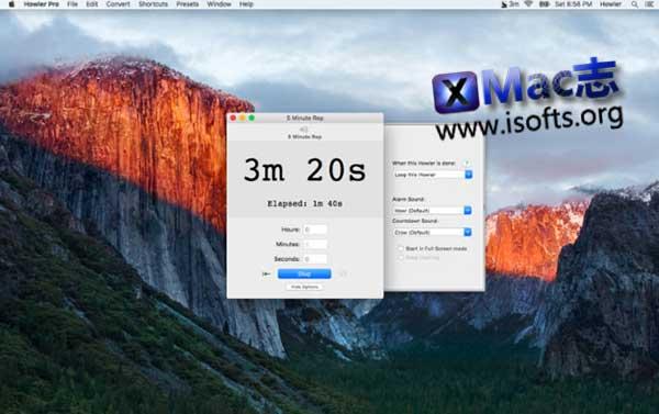 [Mac]易于使用的计时器工具 : Howler Pro