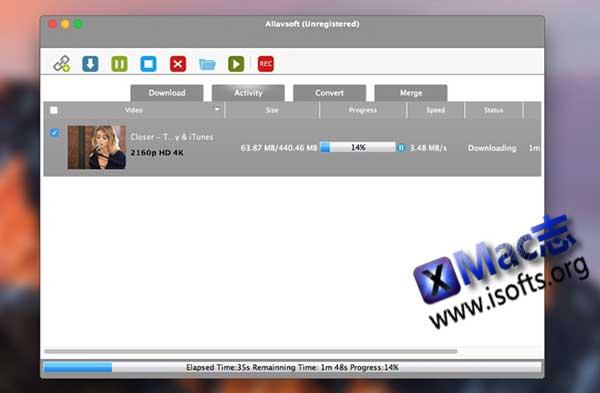 [Mac]全功能的在线视频下载和格式转换工具 : Allavsoft Downloader