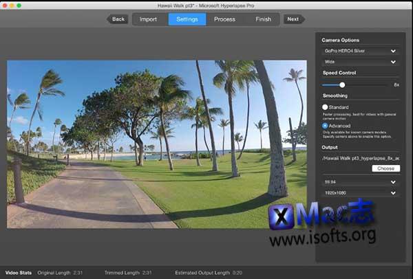 [Mac]微软延时拍摄应用工具 : Hyperlapse Pro