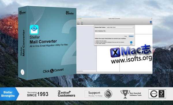 [Mac]邮件格式转换工具 : Stellar Mail Converter