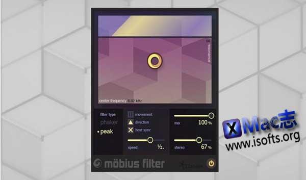 [Mac]滤波插件 :iZotope Möbius Filter