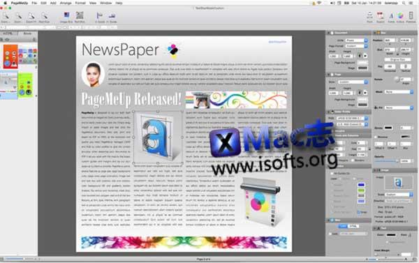 [Mac]页面设计排版工具 : PageMeUp