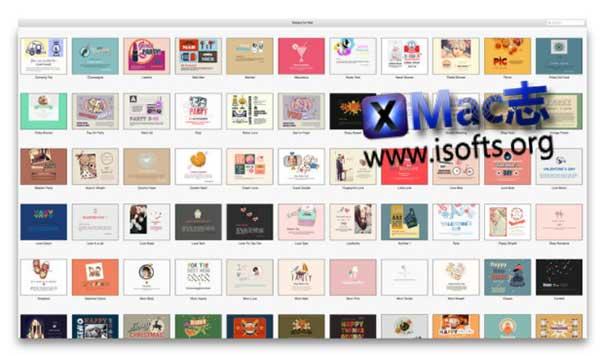 [Mac]电子邮件模板套件 : Mail Stationery Expert