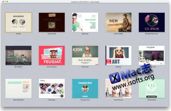 [Mac] PPT幻灯片模板套件 : Slide Design Expert – Templates for MS Powerpoint