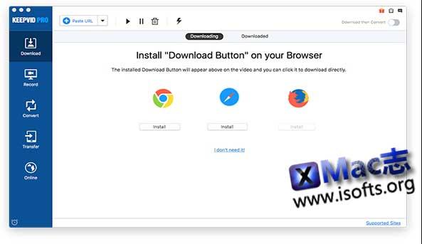 [Mac]在线视频下载工具 : KeepVid Pro