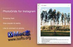 [Mac] Instagram客户端工具 : PhotoGrids for Instagram