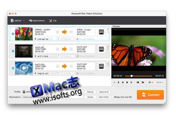 [Mac]视频编辑处理工具 : Aiseesoft Video Editor Enhancer