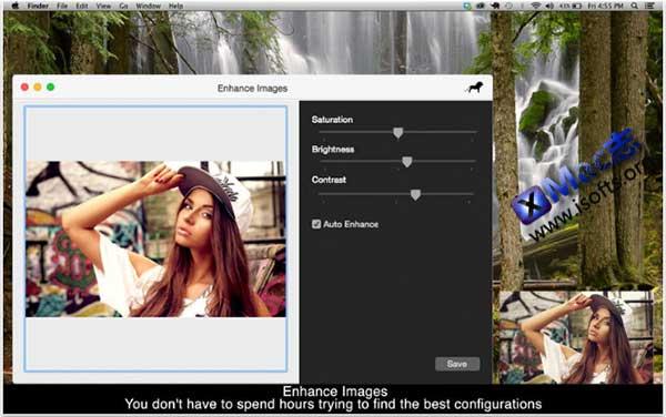 [Mac]图像增强美化工具 : Enhance Images