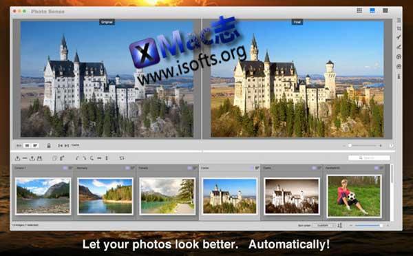 [Mac]照片批量编辑和增强工具 : Photo Sense