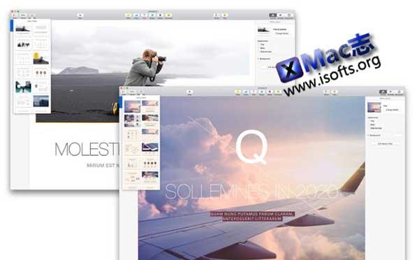 [Mac] Keynote模板套件 : Graphic Node Themes for Keynote