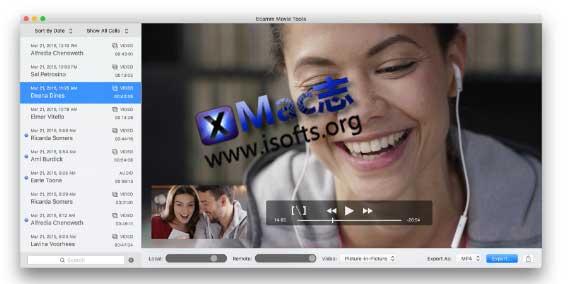 [Mac] Skype及Facetime视频聊天录制工具 : Ecamm Movie Tools