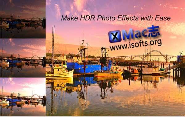 [Mac]照片HDR滤镜软件 : iFoto HDR
