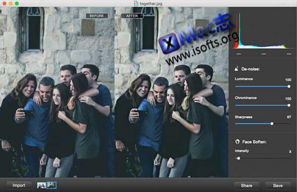 [Mac]强大的图像降噪处理工具 : iFotosoft Photo Denoise