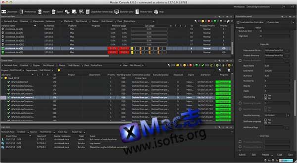 [Mac]专业的多媒体集群渲染平台 : Virtual Vertex Muster