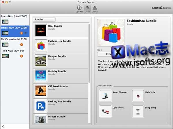 [Mac] Garmin设备管理工具 : Garmin Express