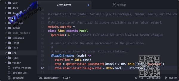 [Mac]易用的文本编辑器 : Atom
