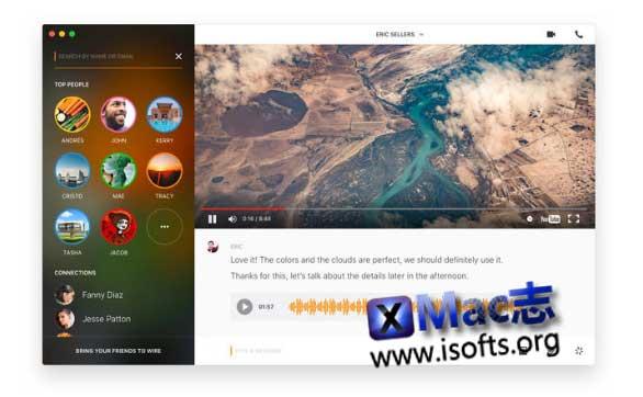 [Mac]精美的即时通讯聊天整合工具 : Wire