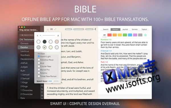[Mac]圣经学习软件 : The Bible