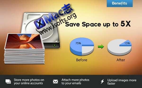 [Mac]批量图片体积压缩优化及尺寸调整工具 : Photo Size Optimizer