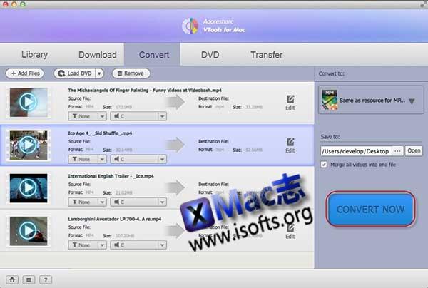 [Mac]全能视频工具箱 : Adoreshare VTools
