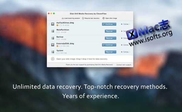 [Mac]数据恢复软件 : Disk Drill Media Recovery