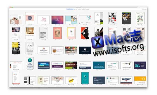 [Mac] iWork模板套件 : Suite for iWork