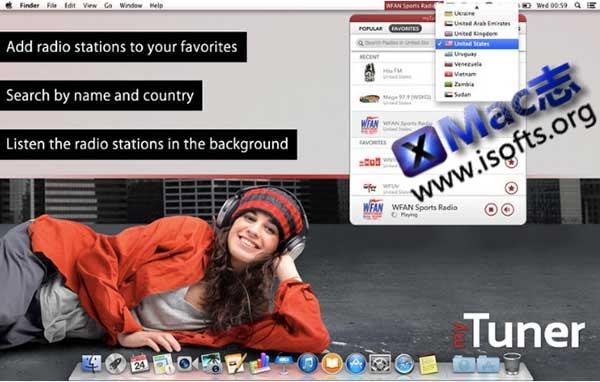 [Mac]全球广播电台 : myTuner Radio