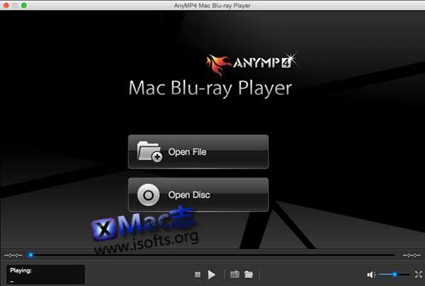 [Mac]蓝光播放器 :AnyMP4 Mac Blu-ray Player