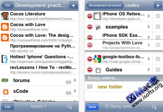 ChromeSync Lite for iPhone:Google在线书签同步工具