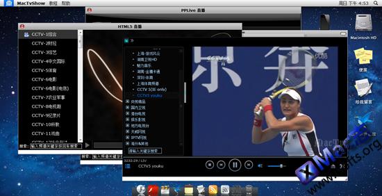 MacTv:在线视频整合平台